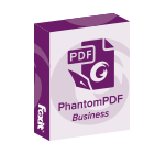 Foxit PhantomPDF Business 9 Commercial English